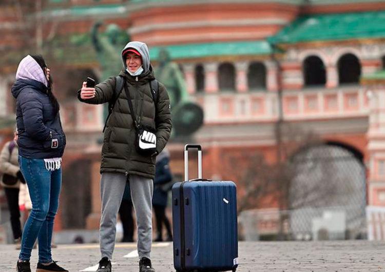 В 2020 году Москву посетили более 13 млн туристов