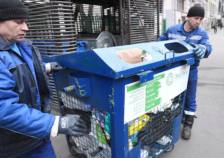 В Москве для раздельного сбора мусора установили около 65 тысяч контейнеров