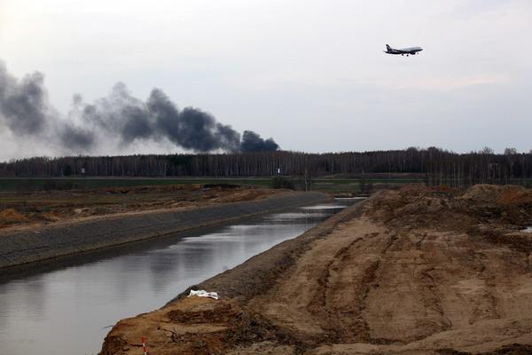В Клязьме обнаружили вещество для обработки самолетов из «Шереметьево»