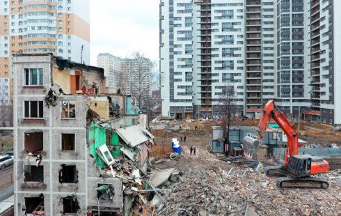 Программа реновации старого жилья в Подмосковье начнется в третьем квартале