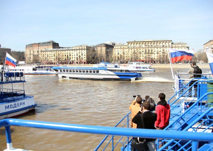 В Москве досрочно открылась летняя пассажирская навигация