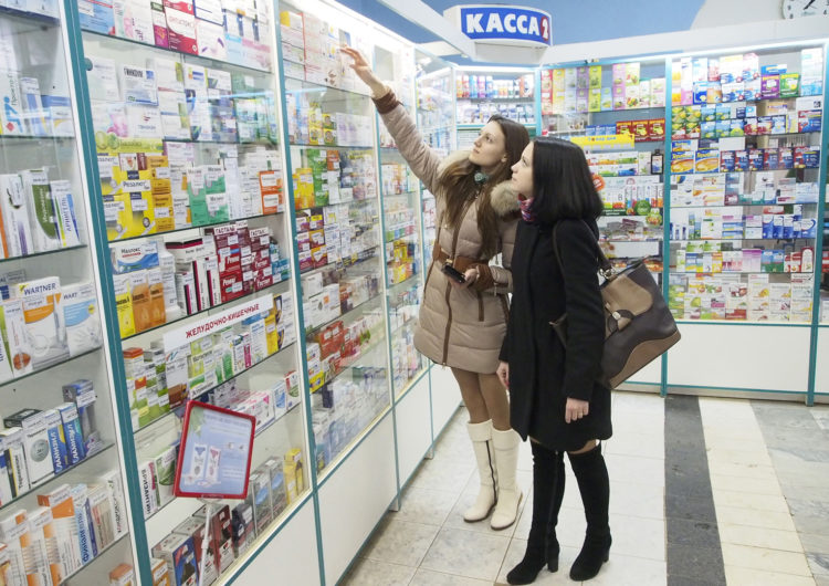 Каждый второй москвич покупает лекарства несколько раз в месяц