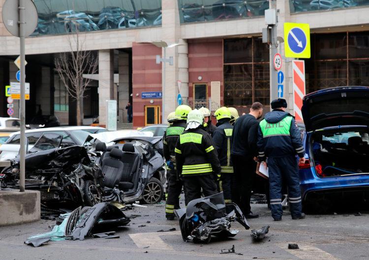После массового ДТП на Садовом кольце в Москве возбудили уголовное дело
