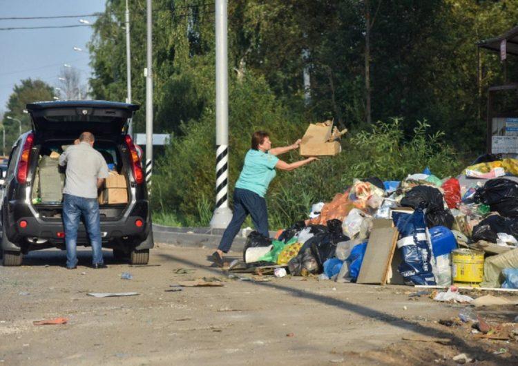 В Мосгордуме предложили конфисковать транспорт, незаконно сбрасывающий мусор