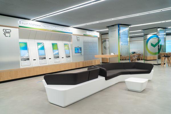 В Москве открыли еще один офис Сбера нового формата