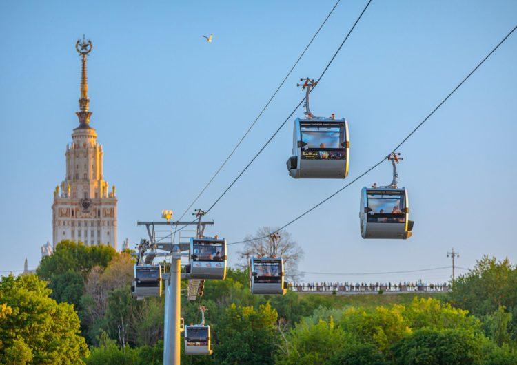 С начала года Сбербанк и Московская канатная дорога обеспечили проезд для 460 тыс. человек