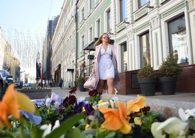 Москвичам до конца недели пообещали хорошую погоду