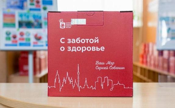 В Москве в два раза увеличится число пунктов для получения коробки здоровья для пенсионеров